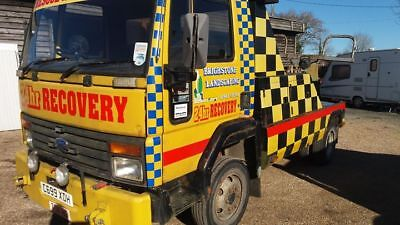Ford Cargo 1615 Spec Lift Recovery Truck Vehicle 7.5 tonne