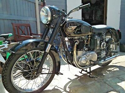 BSA Golden Flash A10 650 1953 Plunger total rebuild