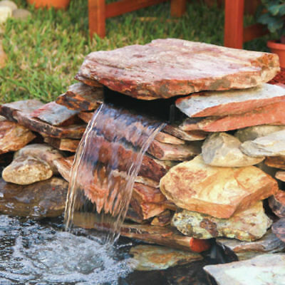 Waterfall Fountain Outdoor Decor Garden Lawn Patio Ponds Accessory Spillway Kit