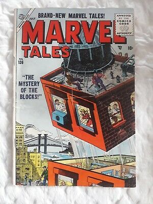 """Marvel Tales # 136 """"The Mystery of the Blocks"""""""