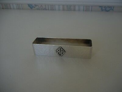 Sterling Silver Marshall Field & Co Napkin Ring Arts & Crafts Hammered Chicago