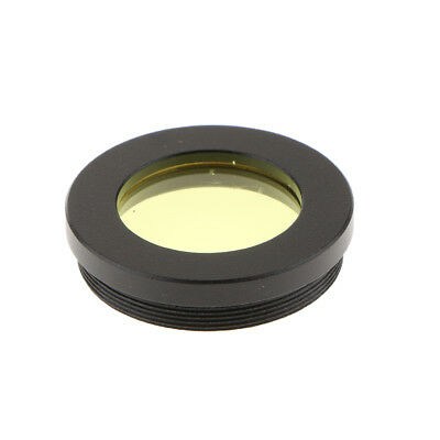 "1.25"" Telescope Eyepiece Lens Yellow Filter for Planet Moon More Detail"