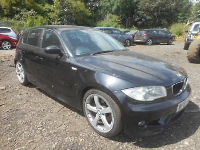 2005 BMW 120D Sport Black Salvage Light Damaged Repairable Turbo ...