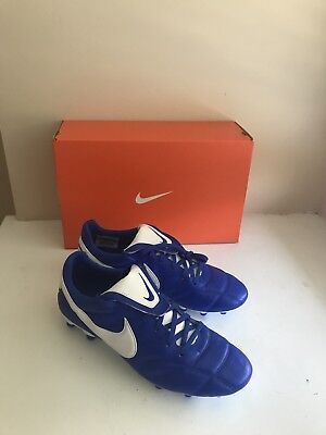 ba7e5f096 THE NIKE PREMIER Ii Fg Racer Blue/White Size 9 Mens Us - $73.99 ...