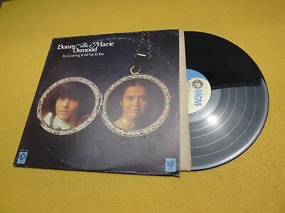 Donny & Marie Osmond ‎– I'm Leaving It All Up To You (EX-/EX+)   vinyl   Lp ç