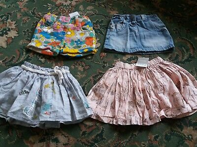 Girls Next Summer Clothes Bundle Age 6-9 Months Sports And Shorts BNWT