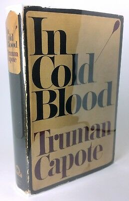 """""""In Cold Blood"""" by Truman Capote, 1st Edition 1st Printing"""