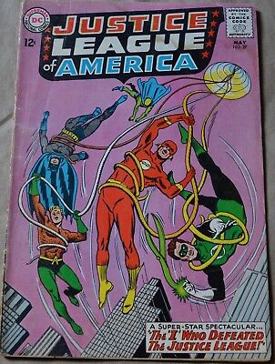 JUSTICE LEAGUE OF AMERICA #27 (DC, 1964) Amazo & Robin appearances.