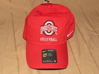 buy online 6cf61 a465c Ohio State Buckeyes Volleyball Hat Nike Heritage 86 Campus Cap Unisex