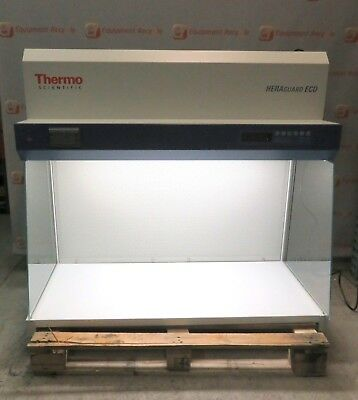 Thermo Scientific HEARguard ECO 1.2 Clean Bench Laminar Air Flow Fume Hood Stand