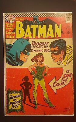 Batman #181 Vol 1 Low Grade 1st Appearance of Poison Ivy No Pin-Up