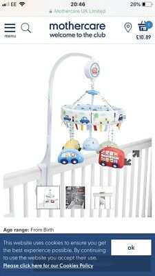 Mothercare Car Cot Mobile
