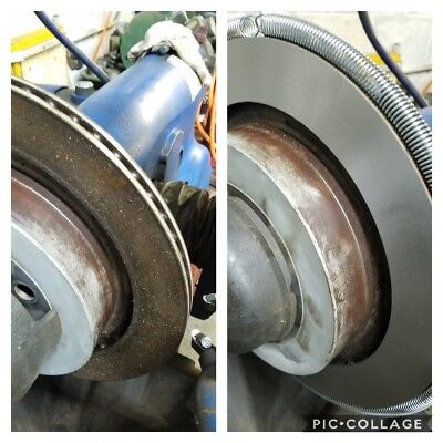 Rotor Cutting and Resurfacing