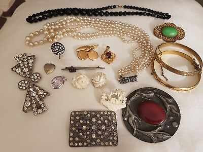 Antique And Vintage Collection Of Jewellery