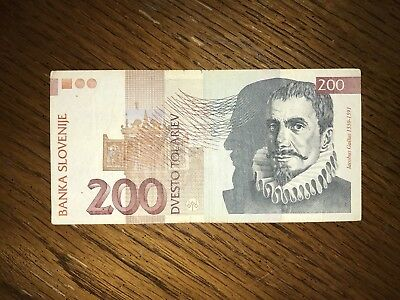 200 SLOVENIA 🇸🇮 banknotes world money , world currency