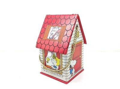 Vintage 1971 Peanuts Gang House Shaped Purse Snoopy  Butterfly Originals