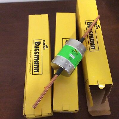 LOT OF 3 NEW Bussman FRS-R-400- CLASS RK5 FUSE 400 AMPS 600V
