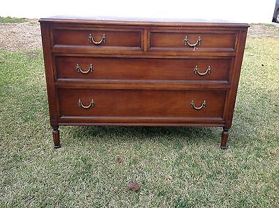 """""""Mahogany Masterpiece""""  1920's Antique Chest of Drawers By H. Hermann New York"""