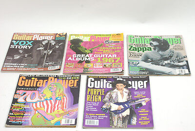 Guitar Player Magazine Lot of 5 Issues Rock Icons Beatles Jimi Hendrex Zappa