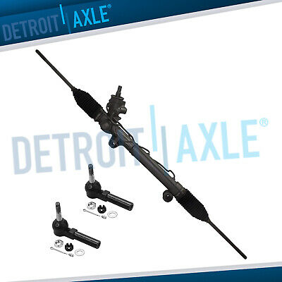 Power Steering Rack and Pinion w/o Magnasteer +  Outer Tie rods for Chevy Buick