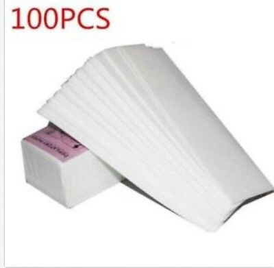 100x Wax Strip Paper Roll Waxing Hair Removal Depilatory Nonwoven OH