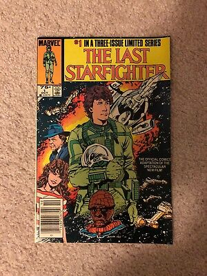 The Last Starfighter 1 Marvel 1984 1st issue appearance