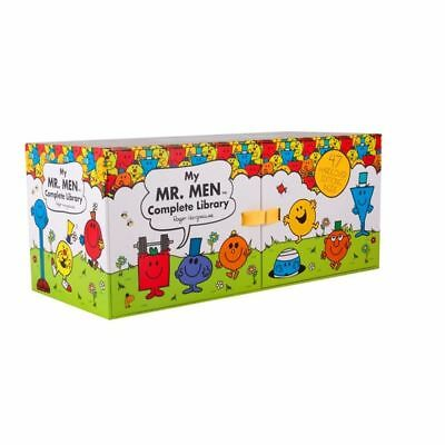 NEW Mr Men Complete Library Set 47 Hard Cover Books Collection Box FREE AU POST