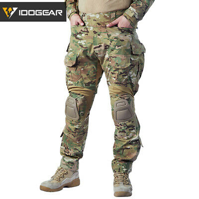 62e3262867 Emerson Airsoft G3 Combat Pants w/ Knee Pads Military Tactical MultiCam  Hunting