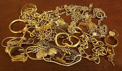 Gold Filled Jewelry Lot A 210 Grams