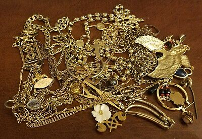 Gold Filled Jewelry Lot B 220 Grams