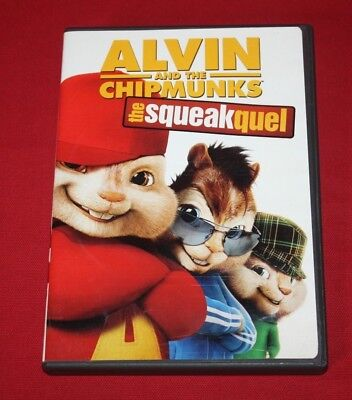 Alvin And The Chipmunks: The Squeakquel (Dvd, 2010) Jason Lee, David Cross