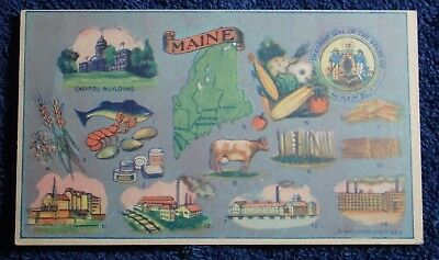 1930's Advertisement For Maine Commonwealth Life Insurance Company Louisville Ky