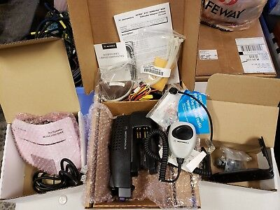 Nib! Motorola Xtva Xts Kit Ntn8560 Open Face W/  Mic, Ntn8327 Rf Adapter, Wrench