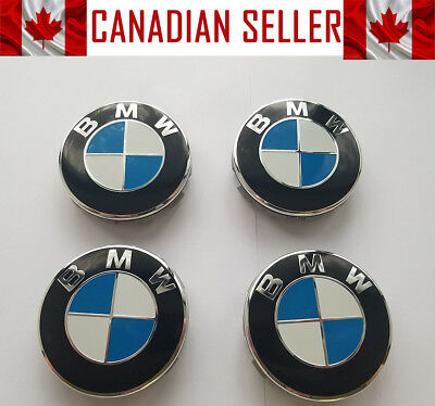 4 Pcs BMW Wheel Rim Center Cap 68mm FITS ALL MODELS