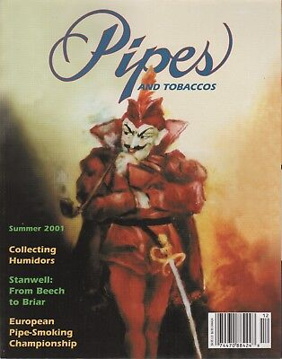 Pipes and Tobaccos Magazine Volume 6 Number 2 Summer 2001 Collecting Humidors