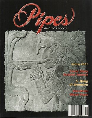 Pipes and Tobaccos Magazine Volume 6 Number 1 Spring 2001 Ancient Smoker