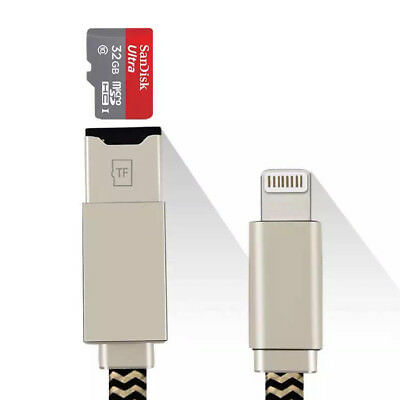 Memory Stick USB i Flash Drive Card Reader Data Cable For iPhone 5S 6S iPad IOS