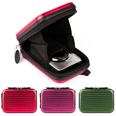 Tough Compact Camera Case w/Clip For Canon PowerShot SX720 HS/IXUS190/ Sony HX99