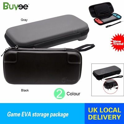 Nintendo Switch Hard Case Bag Pouch Game EVA Storage Package Protective Cover UK