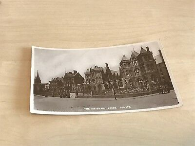 Early 1900s Reliable Series Real Photo Postcard The Infirmary, Leeds