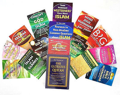 The Quran: Meaning of the Glorious Quran & 12 Publications + Quran mp3 cd