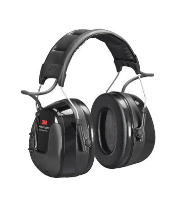 3M Peltor HRXS221A WorkTunes Pro AM/FM Radio Headset 32 dB Headband - Black