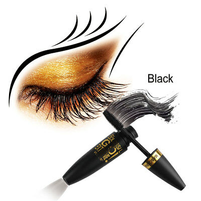 Mascara d'extension de cils de fibre de 4D Curling Eye LashesThicker Waterproof.