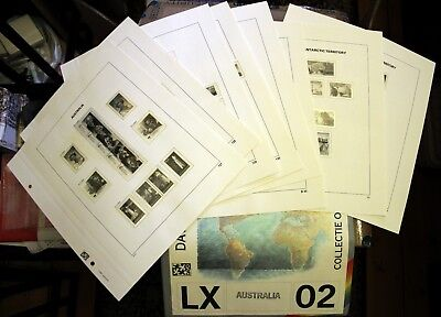 2002 Australia Davo hingeless supplement pages 127-130, B34-35, AAT 11-12 (8)