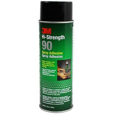 3M 30023 90 Hi-Strength Contact-Type Adhesive Spray 24 oz Size Clear 2120030023