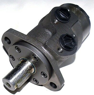 Hydraulic Orbital Motor 25 cc/rev Straight Keyed Shaft 25mm Side Ports G1/2
