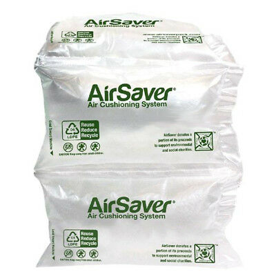 """182 Green 4""""x8"""" Air Pillows Ultra Light Pre Filled Void Fill Cushion for Padding"""