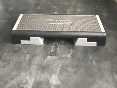 Reebok Running and Athletics Yoga Exercise and Fitness Adjustable Step Stepper
