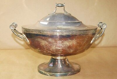 * Antique Gorham Silver Plated Tureen,1877