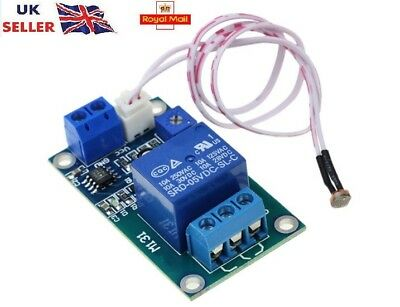 XH-M131 Photoresistor Module DC 12V Relay Light Control Switch Detection Sensor